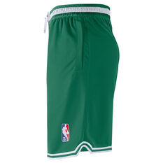 Nike Boston Celtics Mens Courtside NBA DNA Basketball Shorts Green S, Green, rebel_hi-res