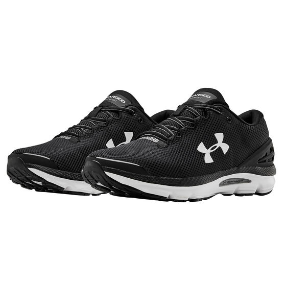 Under Armour Charged Gemini Mens Running Shoes, Black, rebel_hi-res
