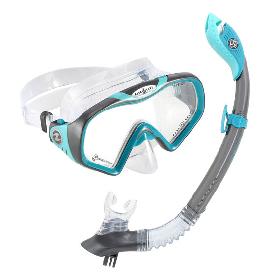 Aqua Lung Sport Adult Falcon Snorkel Combo, , rebel_hi-res