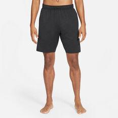 Nike Mens Yoga Dri-FIT Shorts Black S, Black, rebel_hi-res