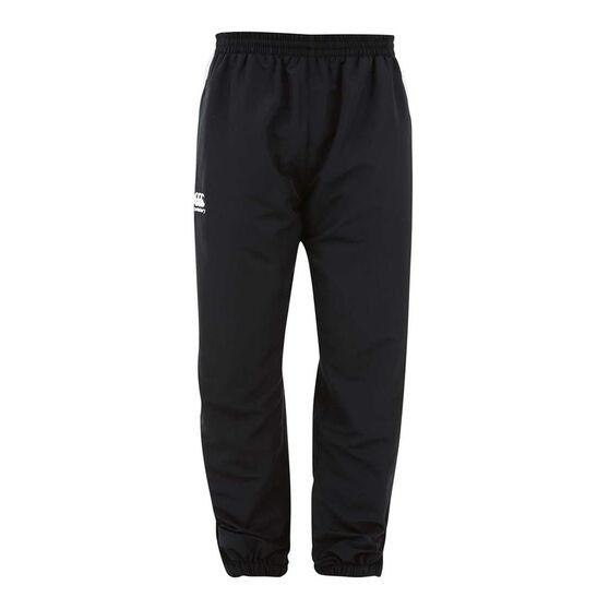 Canterbury Mens Team Side Panel Track Pants, Black, rebel_hi-res