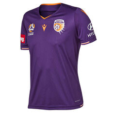 Perth Glory 2019/20 Mens Home Jersey, Purple, rebel_hi-res