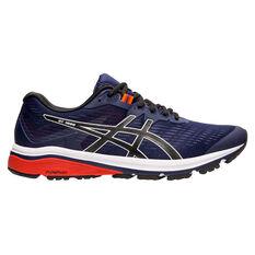 Asics GT 1000 8 2E Mens Running Shoes Blue / Black US 7, Blue / Black, rebel_hi-res