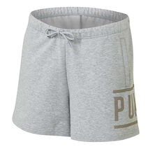 Puma Womens Athletic Shorts Grey XS, Grey, rebel_hi-res
