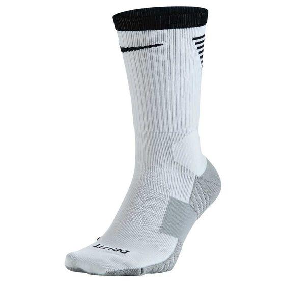 8df0cb4ec Nike Dry Squad Crew Football Socks White / Black S, White / Black, rebel_hi