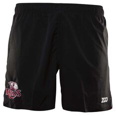 Queensland Reds 2018 Mens Travel Rugby Shorts, , rebel_hi-res