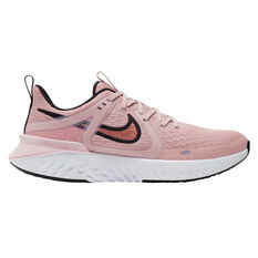 Nike Legend React 2 Womens Running Shoes Pink / Rose Gold US 6, Pink / Rose Gold, rebel_hi-res