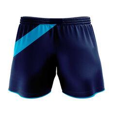 NSW Waratahs 2020 Mens Training Shorts Blue S, Blue, rebel_hi-res