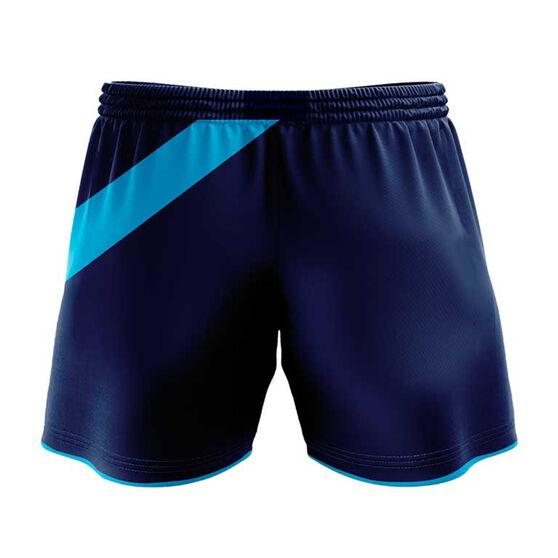 NSW Waratahs 2020 Mens Training Shorts, Blue, rebel_hi-res