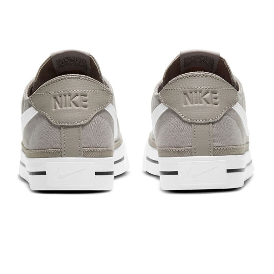 Nike Court Legacy Canvas Mens Casual Shoes, Grey/White, rebel_hi-res
