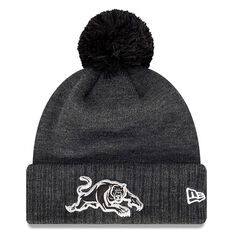 Penrith Panthers New Era Pom Knit Beanie, , rebel_hi-res