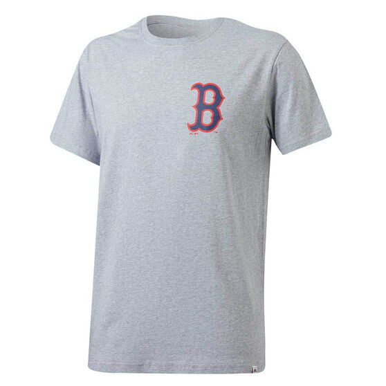 Boston Red Sox Majestic Codey T-Shirt, Grey, rebel_hi-res