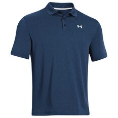 Under Armour Mens Performance Polo Shirt Navy S, Navy, rebel_hi-res