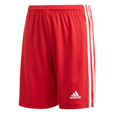 adidas Boys Squadra 21 Shorts Red 6, Red, rebel_hi-res
