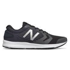 New Balance Flash Mens Running Shoes Black / White US 7, Black / White, rebel_hi-res