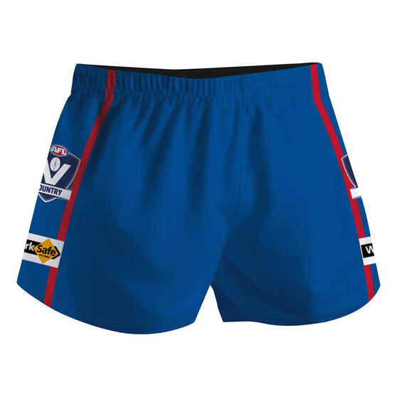Cougar Sportswear V.C.F.L Training Shorts, Royal Blue, rebel_hi-res