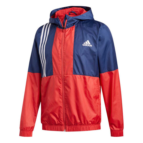 adidas Mens Axis Wind Jacket, Blue, rebel_hi-res
