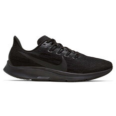 Nike Air Zoom Pegasus 36 Womens Running Shoes Black US 6, Black, rebel_hi-res