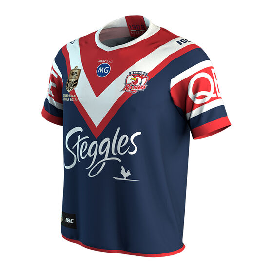 4730b20fbb1 Sydney Roosters 2018 Mens Premiers Jersey, , rebel_hi-res