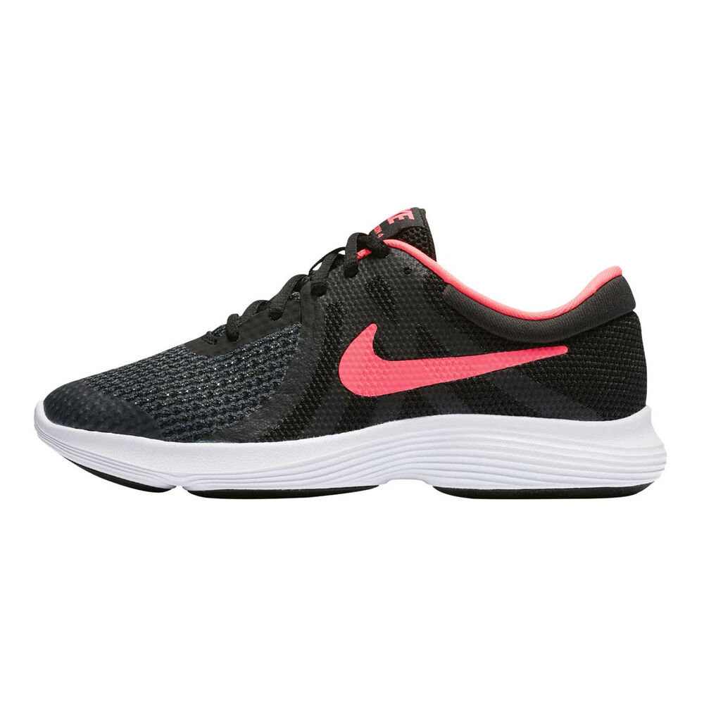 4424958b70efd Nike Revolution 4 Girls Running Shoes Black   Pink US 4