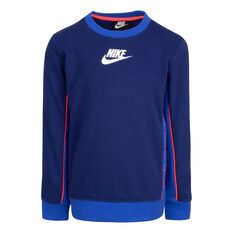 Nike Boys JDI See Me FT Crew Blue 4, Blue, rebel_hi-res