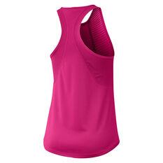 Nike Womens Running Tank Pink XS, Pink, rebel_hi-res