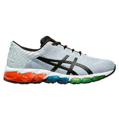 Asics GEL Quantum 360 5 Jacquard Mens Running Shoes Grey / Black US 7, Grey / Black, rebel_hi-res