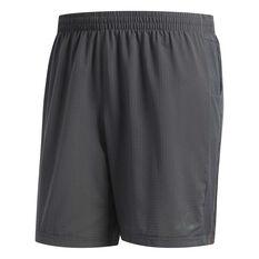 adidas Mens Supernova Shorts Grey S, Grey, rebel_hi-res