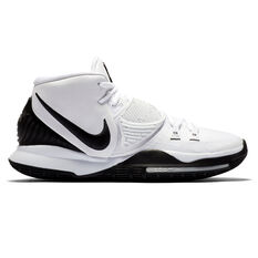 Nike Kyrie VI Mens Basketball Shoes White/Black US 7, White/Black, rebel_hi-res