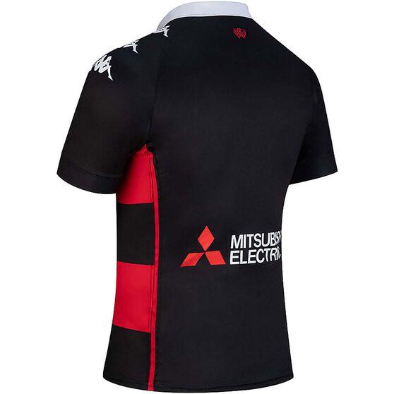 Western Sydney Wanderers 2020/21 Junior Home Jersey, Red / Black, rebel_hi-res