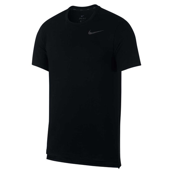 Nike Mens Breathe Hyper Dry Training Tee Black S, Black, rebel_hi-res