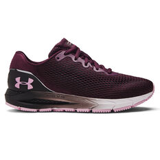 Under Armour HOVR Sonic 4 Womens Running Shoes Purple/White US 6, Purple/White, rebel_hi-res