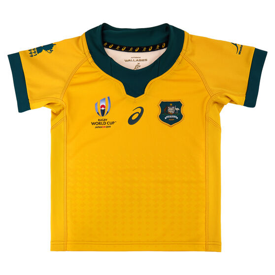 Wallabies 2019 Rugby World Cup Infants Home Jersey, Gold, rebel_hi-res