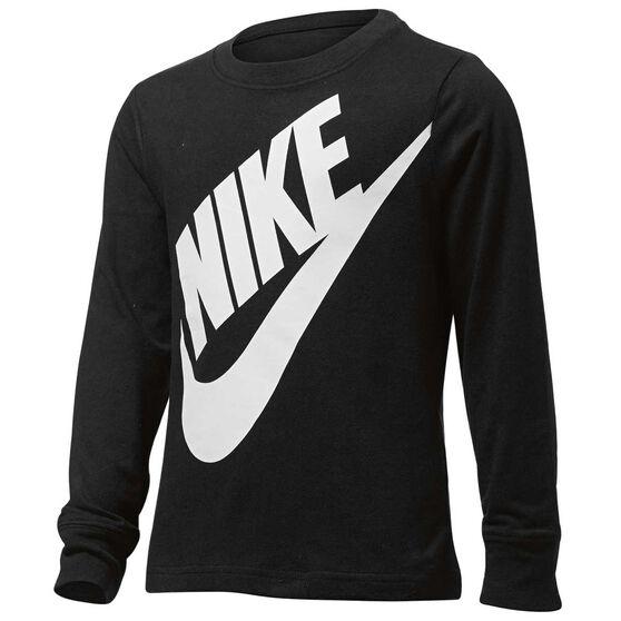 6a2716f5 Nike Boys Jumbo Futura Long Sleeve Tee, , rebel_hi-res