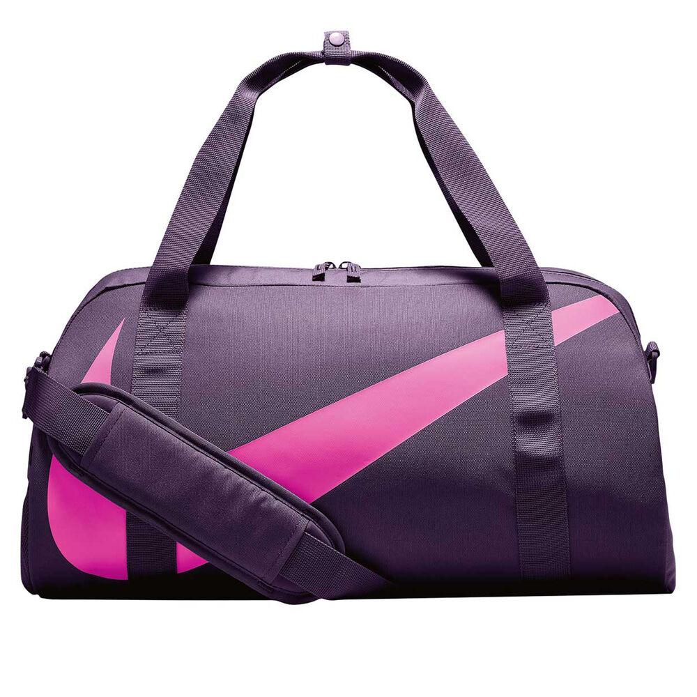 4a6aec7d75c2b Nike Youth Gym Club Duffel Bag Purple