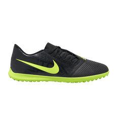Nike Mercurial Phantom Venom Club Touch and Turf Boots Black / Green US Mens 7 / Womens 8.5, Black / Green, rebel_hi-res