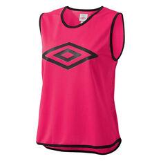 Umbro Training Bib Pink Youth, Pink, rebel_hi-res