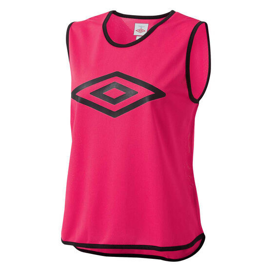 Umbro Training Bib, Pink, rebel_hi-res