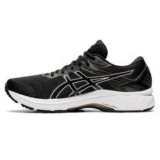 Asics GT 2000 9 Mens Running Shoes Black/White US 7, Black/White, rebel_hi-res