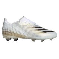 adidas X Ghosted .1 Kids Football Boots White/Gold US 4, White/Gold, rebel_hi-res