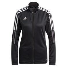 adidas Tiro 21 Womens Track Jacket, Black, rebel_hi-res