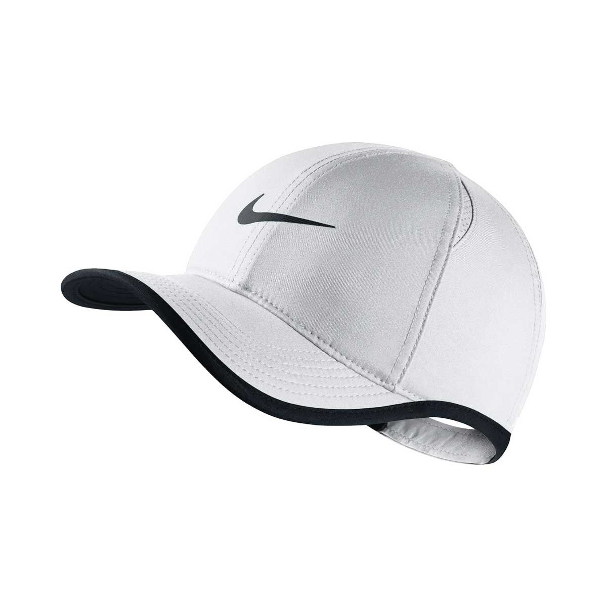 78fe68d4 ... best price nike girls featherlight cap white black osfa rebelhi res  ad51e 94483