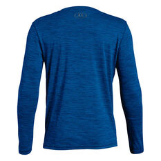 Under Armour Boys Crossfade Long Sleeve Tee Blue XS, Blue, rebel_hi-res