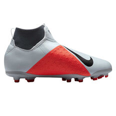 42e7817b7 ... Nike Phantom Vision Academy Junior Football Boots Grey / Black US 1,  Grey / Black