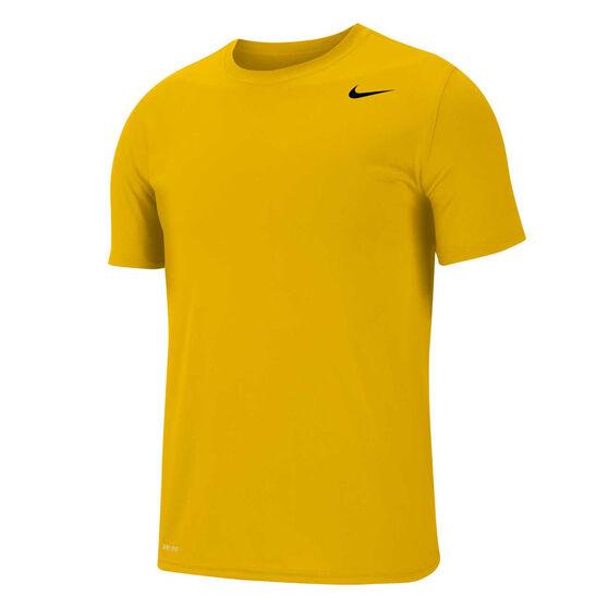 Nike Mens Dri-FIT Legend Training Tee, Yellow, rebel_hi-res
