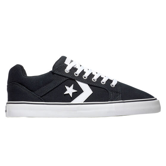 Converse El Distrito 2.0 Mens Casual Shoes, Black/White, rebel_hi-res