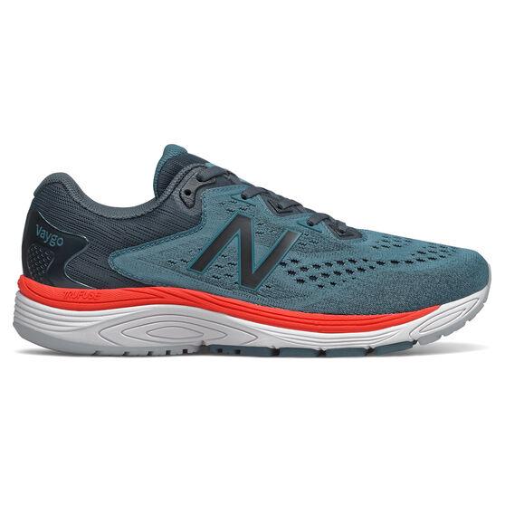 New Balance Vaygo 2E Mens Running Shoes, Green/Black, rebel_hi-res