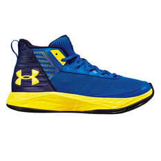 637b8e08ee8 Under Armour Jet 2018 Kids Basketball Shoes Blue US 4