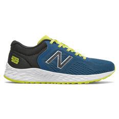 New Balance Fresh Foam Arishi Kids Running Shoes Blue US 4, Blue, rebel_hi-res