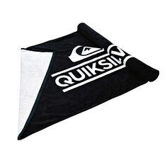 Quicksilver Wordmark Towel Black OSFA, , rebel_hi-res